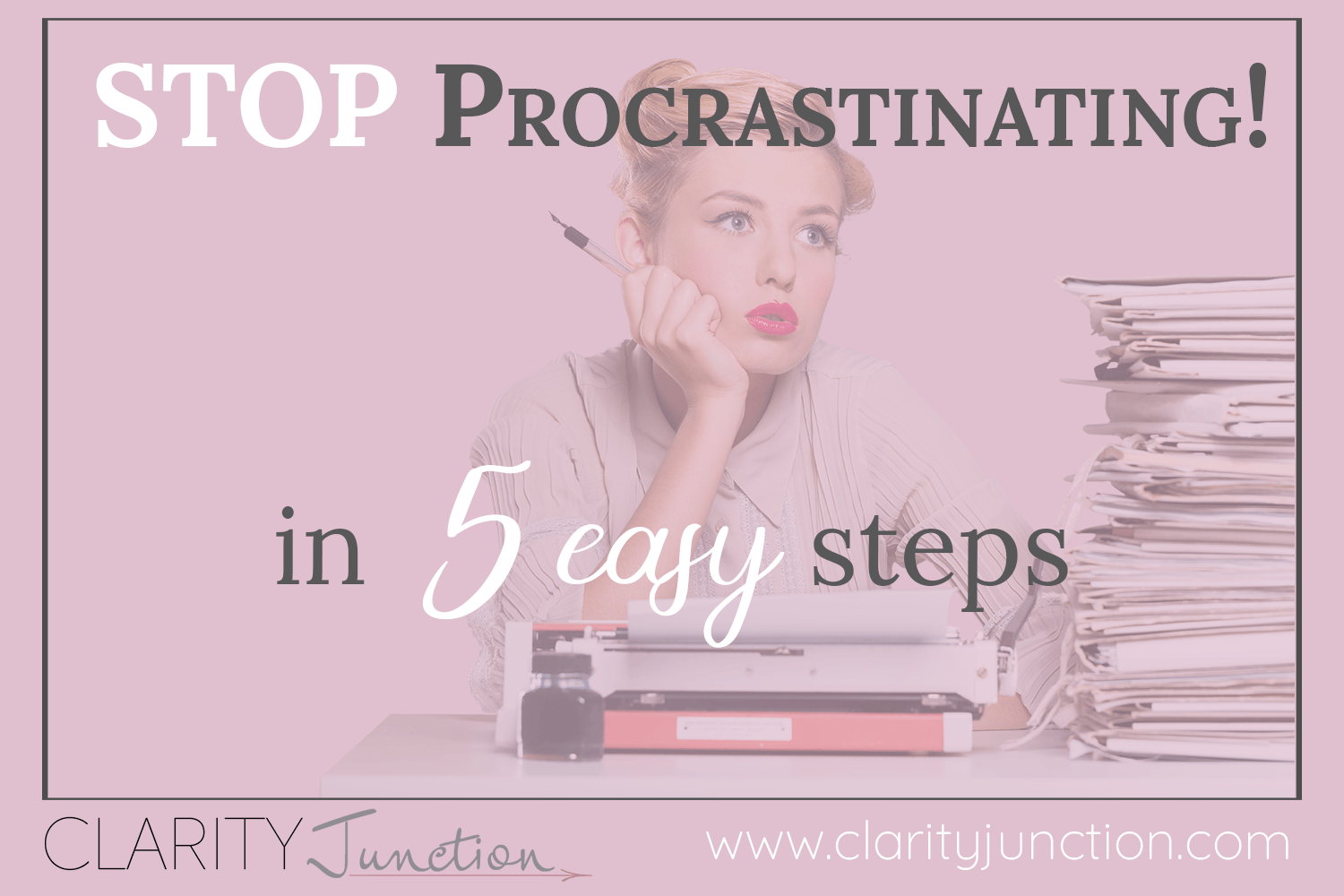 Don't let procrastination destroy your goals. Take these 5 easy steps to stay on track.