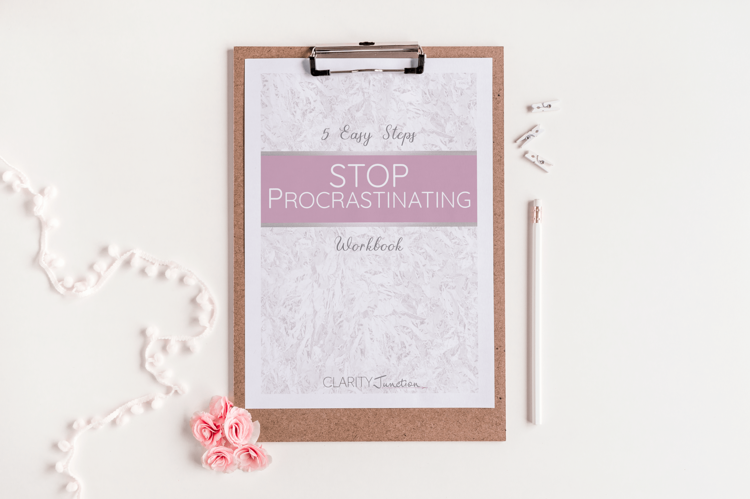 Stop Procastinating Workbook