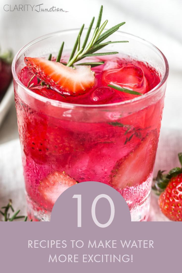 Refreshing Water Recipes