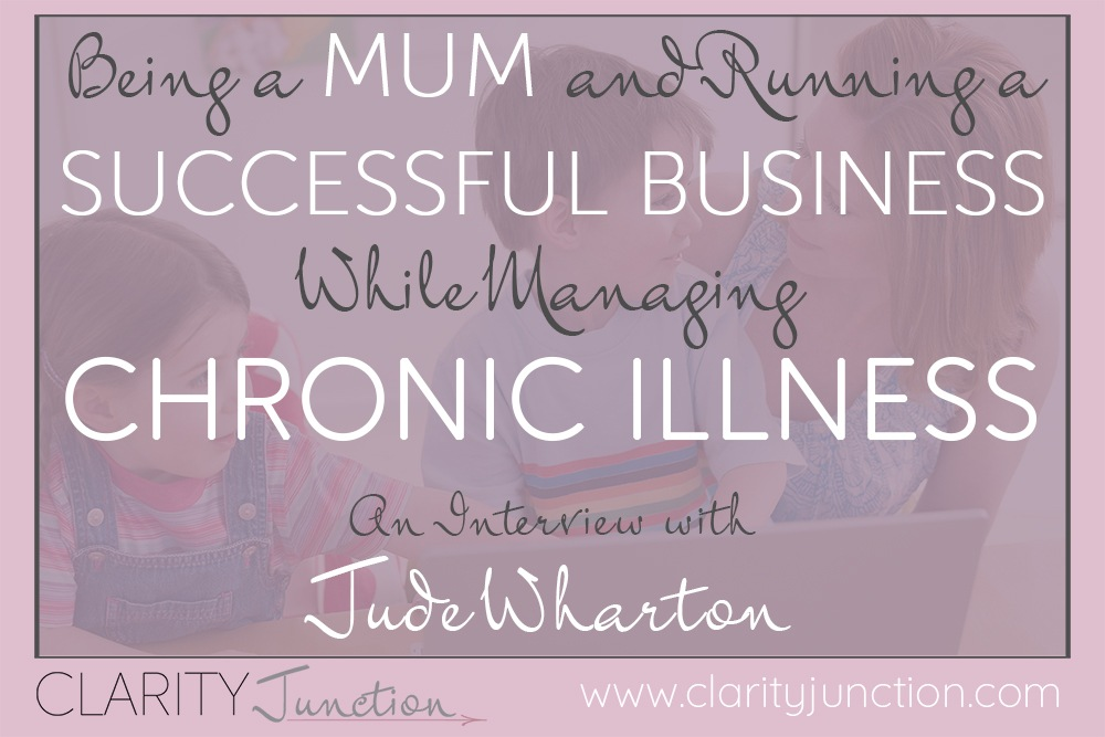Jude Wharton Chronic Illness