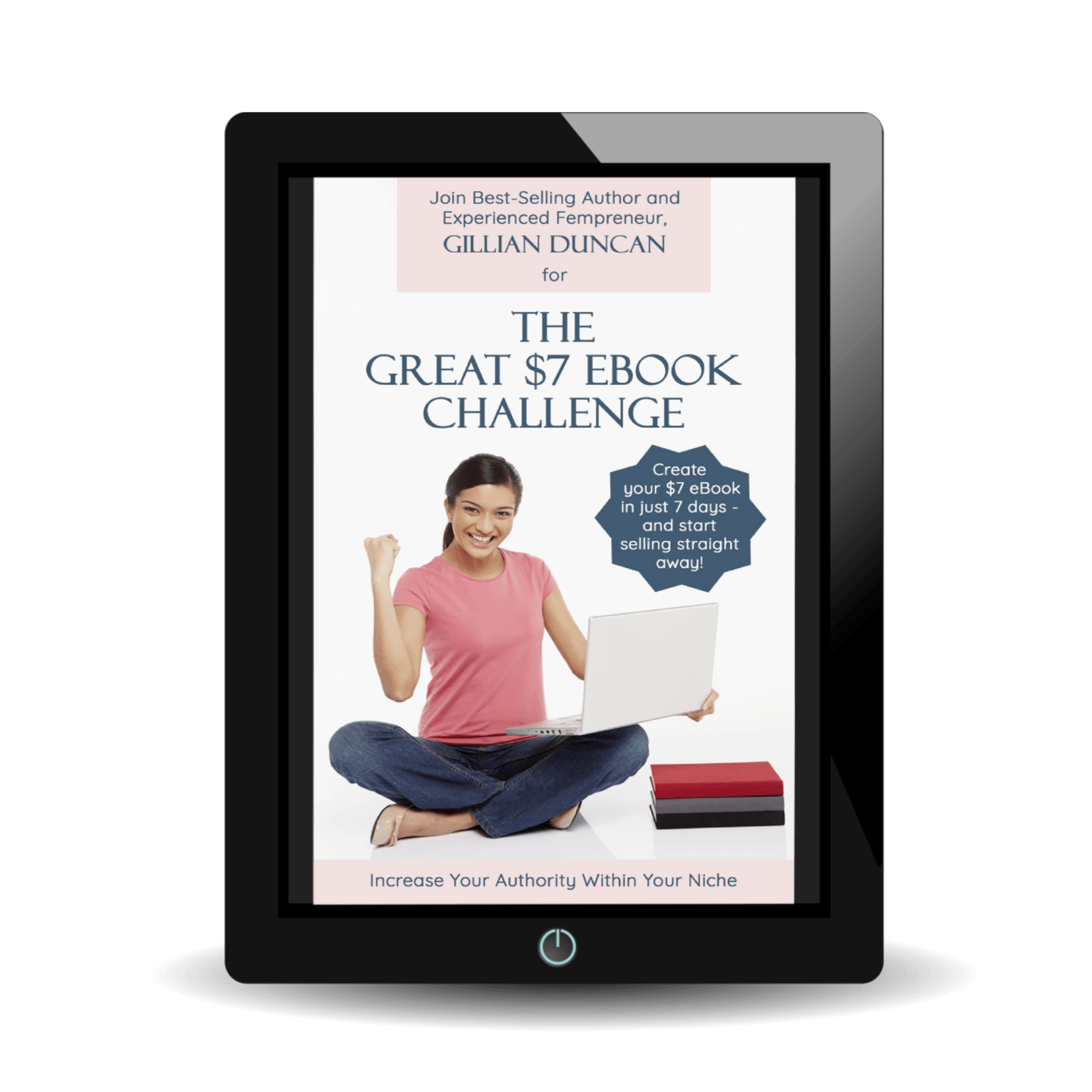 The Great $7 eBook Challenge Tablet